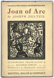 Book cover from Joseph Delteil's 1926 illustrated book