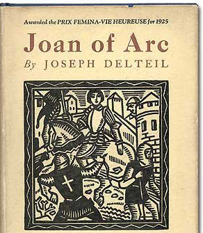 Book cover of Joseph Delteil's 1926 illustrated book