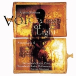 Album cover: Voices of Light by Richard Einhorn