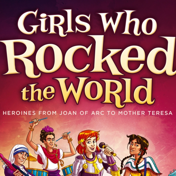 Book cover: Girls who rocked the world