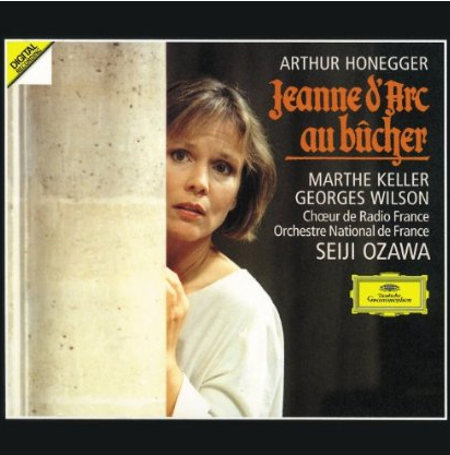 Album cover: Jeanne d'Arc au Bucher by Honegger