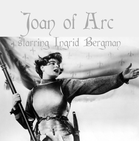 Joan of Arc classic movie starring Ingrid Bergman