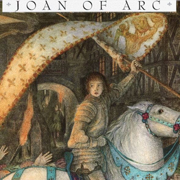 Book cover Joan of Arc by Josephine Poole Illustrated by Angela Barrett