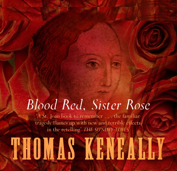 Book cover Blood Red, Sister Rose by Thomas Keneally