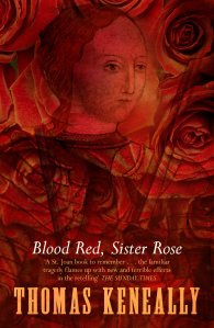 Book cover:Blood Red, Sister Rose by Thomas Keneally