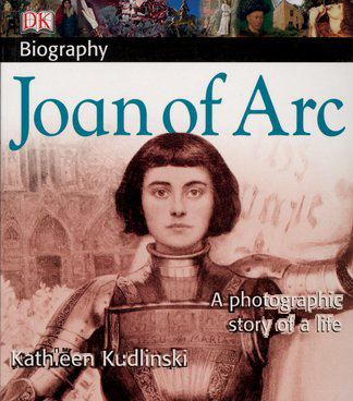 Book cover Joan of Arc by Kathleen Kudlinski
