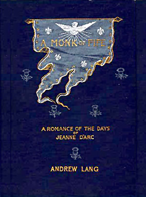"Book cover ""A Monk of Fife"" by Andrew Lang"