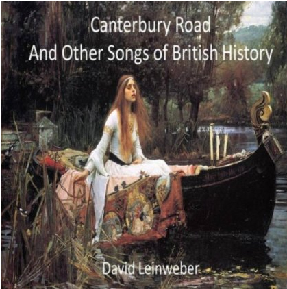 Album cover: Canterbury Road and other songs of British History (2014)