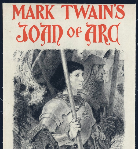 "Mark Twain's masterpiece ""Personal Recollections of Joan of Arc"""