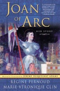 "Book cover Regine Pernoud ""Joan of Arc: Her Story"""