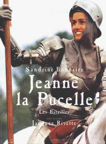 Movie cover: Jeanne la Pucelle by Jacques Rivette