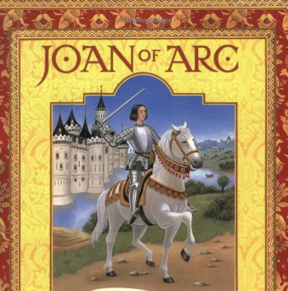 Book cover Joan of Arc by Diane Stanley