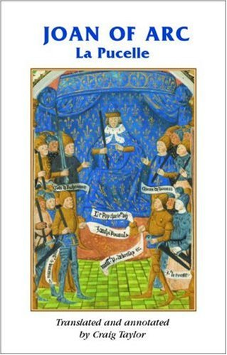 Book cover: Joan of Arc La Pucelle by Craig Taylor