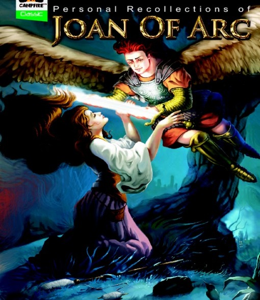 Campfire Graphic Novel's version of Mark Twain's Joan of Arc